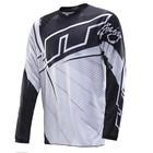 Джерси JT Racing, FLEX BW, черно/белый, размер M