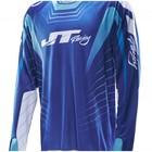 Джерси JT Racing, HYPERLITE RAZOR NIW, сине/белый, размер L
