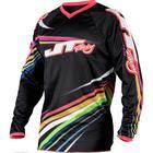 Джерси JT Racing, FLEX FLOW, черный/микс, размер М