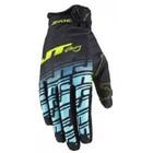 Перчатки JT Racing, LITE- ECHO BIC, черно/синий, размер M