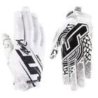 Перчатки JT Racing, LITE-Slasher, бело/черный, размер M