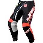 Штаны JT Racing, FLEX FLOW, черно/красный, размер 32