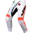Штаны JT Racing, FLEX FLOW, бело/красный, размер 32