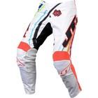 Штаны JT Racing, FLEX FLOW, бело/красный, размер 34