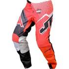 Штаны JT Racing, HYPERLITE VOLTAGE, красно/черный, размер 34