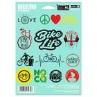 """Наклейки на велосипед """"Bike life"""""""