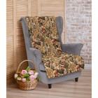 """Накидка на кресло""""Этель"""" Цветение 70х160 см,"""