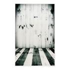 """Фотофон винил """"Звёзды и черно-белые доски"""" стена+пол 80х125 см"""
