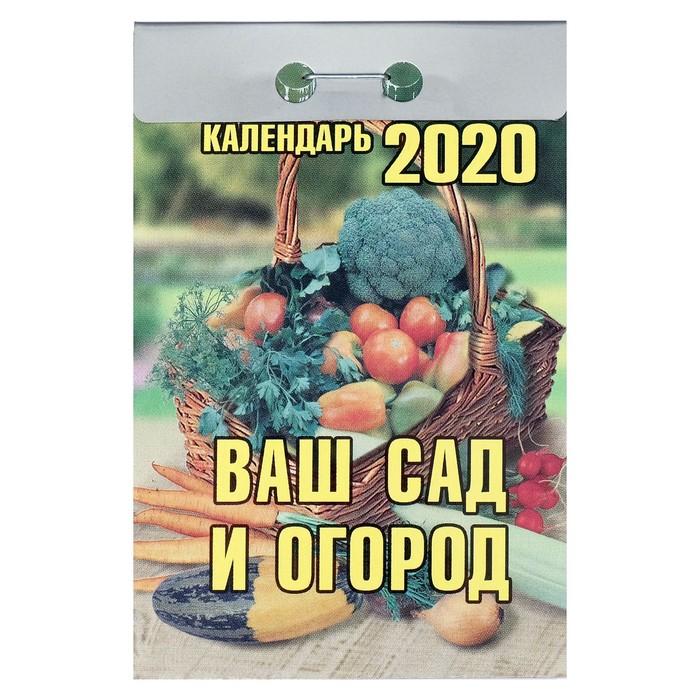 """Отрывной календарь """"Ваш сад и огород"""" 2019 год"""