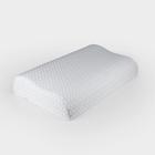 Анатомическая подушка Rosava Comfort M1 50х30 см, бел SilverIons Memory Foam, 75%пэ, 25 виск   36247
