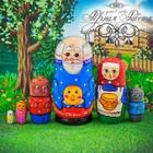 """Матрешка 6 кукольная """"Колобок"""" 16 см"""