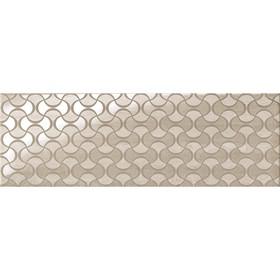 Декор Suprema Silver Wallpaper 25x75