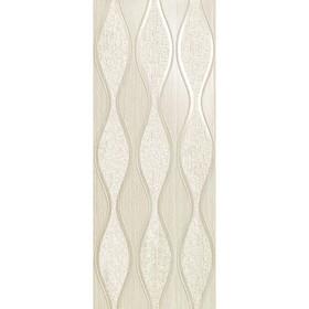 Декор Sinua Wave White 20x50