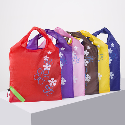 "Shopping bag with ""Victoria"", foldable, division 1, color red"