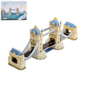 Конструктор 3D «Лондонский мост», 41 деталь