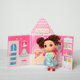Кукла-подвеска «Анечка», 9 см, цвета МИКС