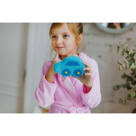 Мочалка детская 'Машинка', цвет МИКС Ош