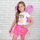 Карнавальный набор «Бабочка», 2 предмета: юбка и крылья - фото 105446078