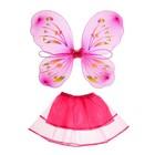 Карнавальный набор «Бабочка», 2 предмета: юбка и крылья - фото 105446079