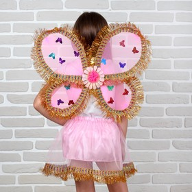 Карнавальный набор 'Бабочка' 2 предмета: юбка и крылья Ош