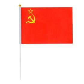 Флаг 'СССР', 14 х 21 см Ош