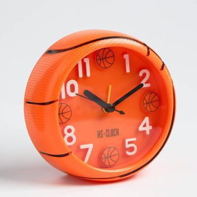 """Будильник """"Баскетбольный мяч"""", объемный, d=11.5 см"""
