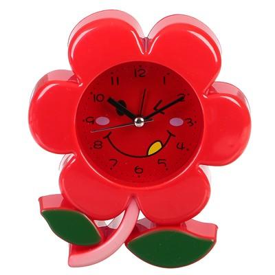 "Будильник ""Цветочек"", микс, 12.5х14 см"