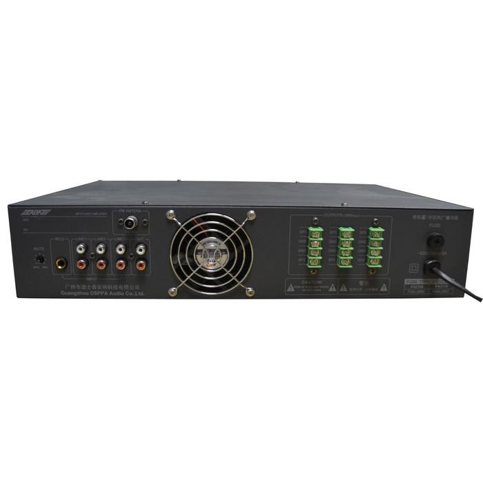 Микшер-усилитель ABK PA-2116 6 зон, USB/SD/FM плеер, мощность усилителя: 120 Вт