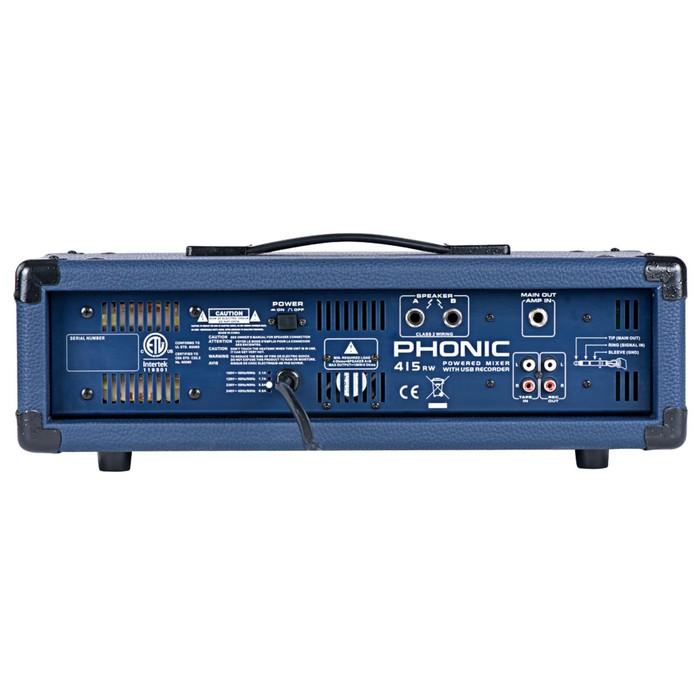 Микшер Phonic POWERPOD 415RW 4-х канальный , 150Вт/8Ом, USB, BT, MP3 проигрыватель