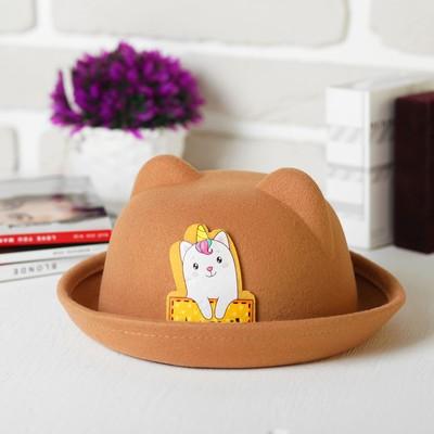 """Шляпа детская с ушками """"Мяу"""", р-р. 52 см"""