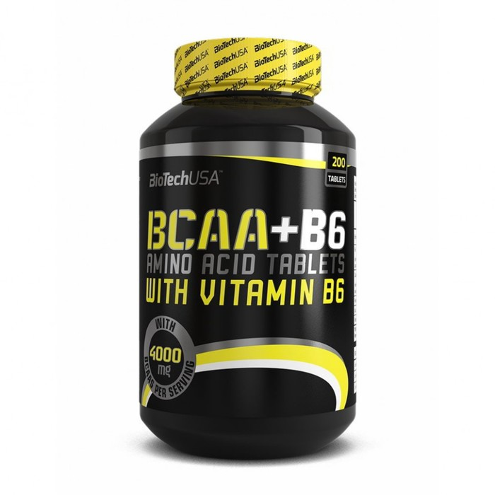 BCAA + B6 BioTech, 200 таблеток