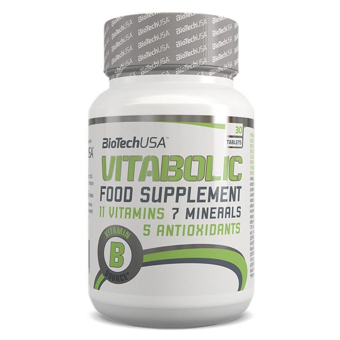 Витамины BioTech Vitabolic, 30 таблеток