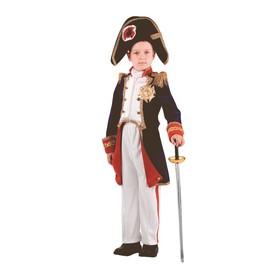 Карнавальный костюм «Наполеон», (бархат, парча), размер 40, рост 158 см