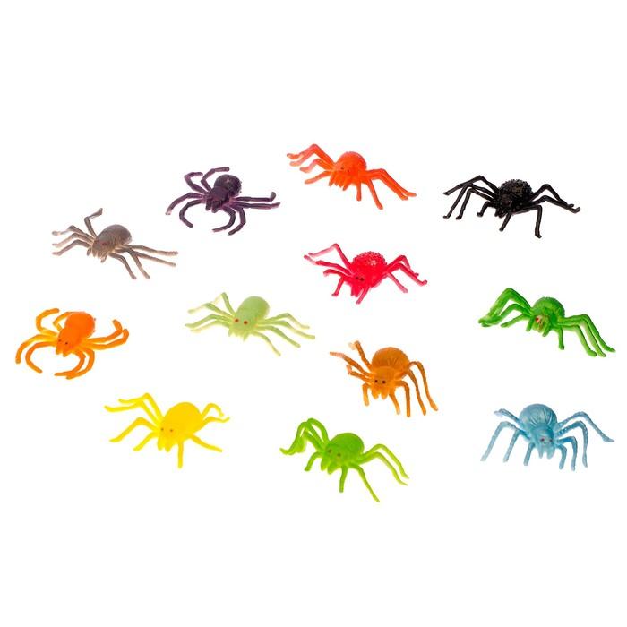Набор животных «Паучки», 12 фигурок