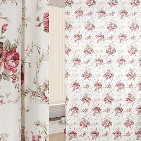 Портьерная ткань в рулоне, ширина 280 см, исполнение печать, блэкаут