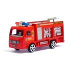 Машина инерционная «Пожарная», цвета МИКС - фото 105656538