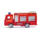Машина инерционная «Пожарная», цвета МИКС - фото 105656539