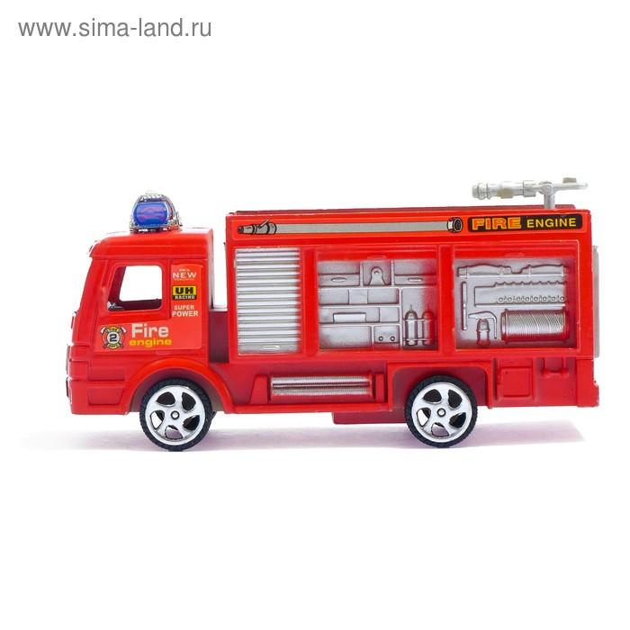 """Машина инерционная """"Пожарная"""", цвета МИКС"""