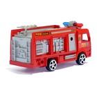 Машина инерционная «Пожарная», цвета МИКС - фото 105656540