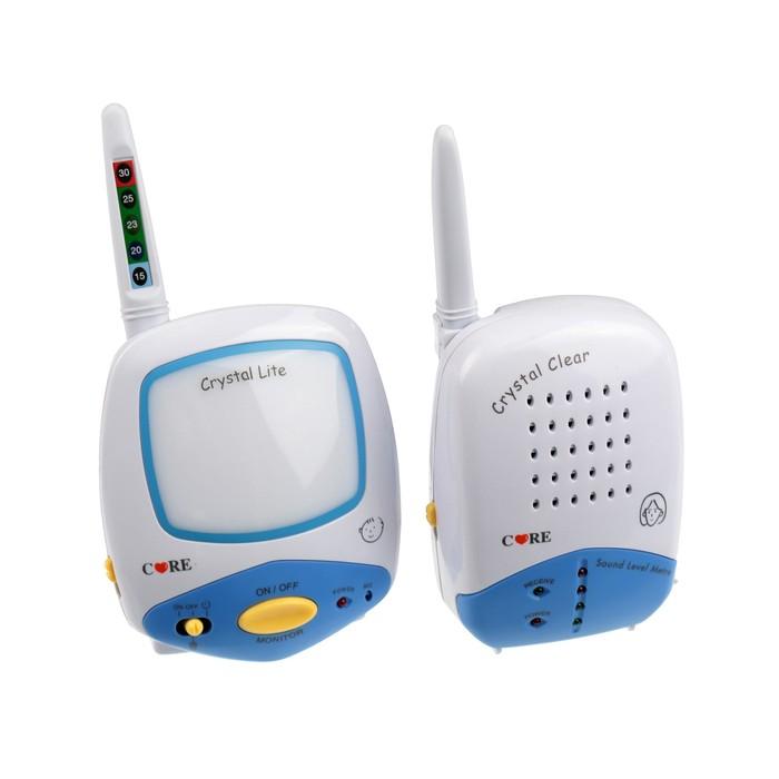 Радионяня Care 15602, 2 адаптера, ночник, индикация комнатной температуры