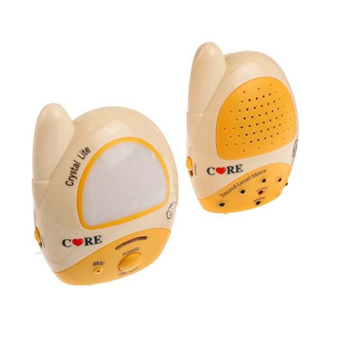 Радионяня Care 15609, 2 адаптера, 100 м, от сети, батареек, ночник, световые индикаторы