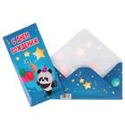 """Конверт для денег """"С Днем Рождения!"""" панда с шариками"""