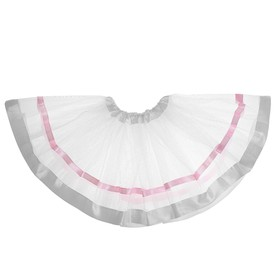 Карнавальная юбка 'Красотка' трехслойная, цвет белый Ош