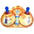 """Мыльные прыгунцы """"Пинг-Понг"""": 2 ракетки, 2 венчика, лоток, бутылка 50 мл"""