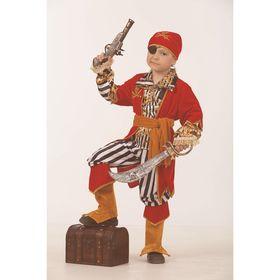 Карнавальный костюм «Пират морской», размер 32, рост 122 см