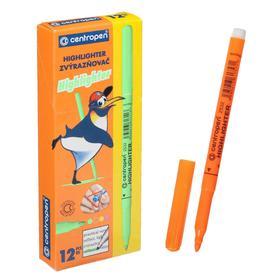 Маркер-текстовыделитель, Centropen 2532, 1.8 мм, оранжевый (ароматизированный)