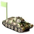 Сборная модель «Советский средний танк Т-34/76» - фото 106526287