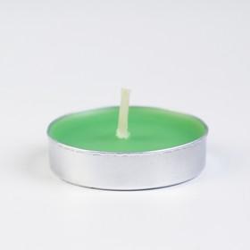 Свечи восковые в гильзе (набор 6 шт), аромат яблоко - фото 1706324
