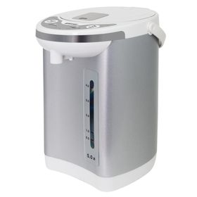Термопот Mystery MTP-2451, 700 Вт, 5 л, бело-серебристый