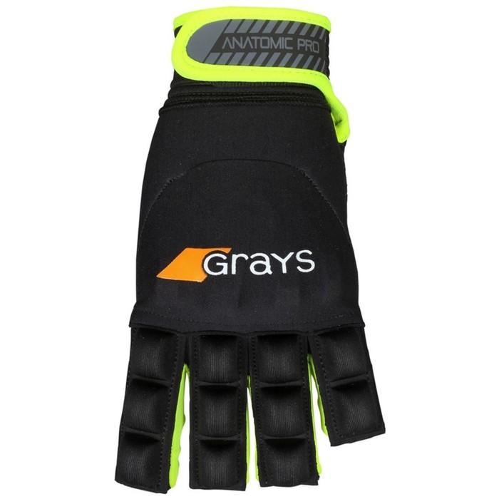 Перчатка GRAYS ANATOMIC PRO GLOVE Взросл(SR) цвет черный/желтый XS 6203303